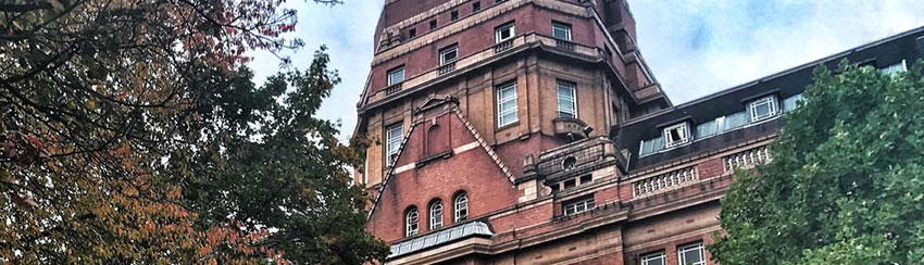 Sackville Street Building in autumn